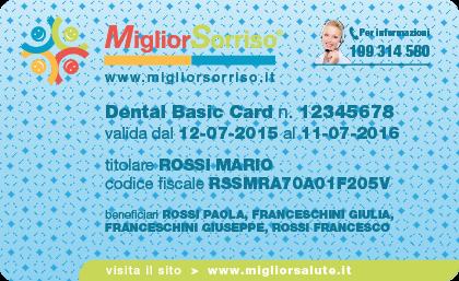 MigliorSorriso-Dental Basic Card