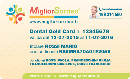 MigliorSorriso-Dental Gold Card