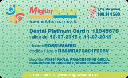 MigliorSorriso-Dental Platinum Card